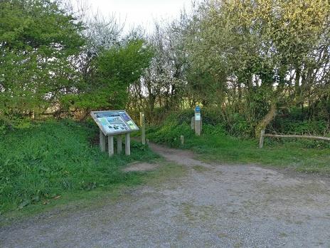 1b. The path